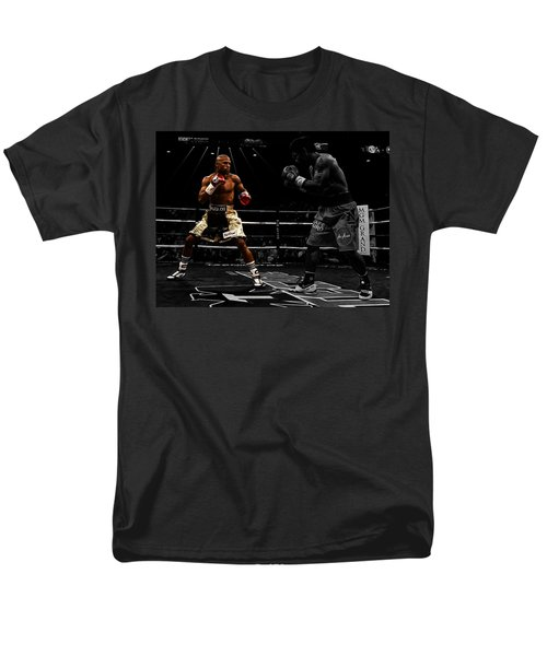 Mayweather And Pacquiao Men's T-Shirt  (Regular Fit) by Brian Reaves