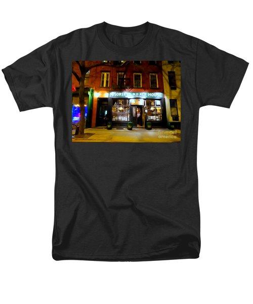 Mcsorleys At Night Men's T-Shirt  (Regular Fit) by Ed Weidman