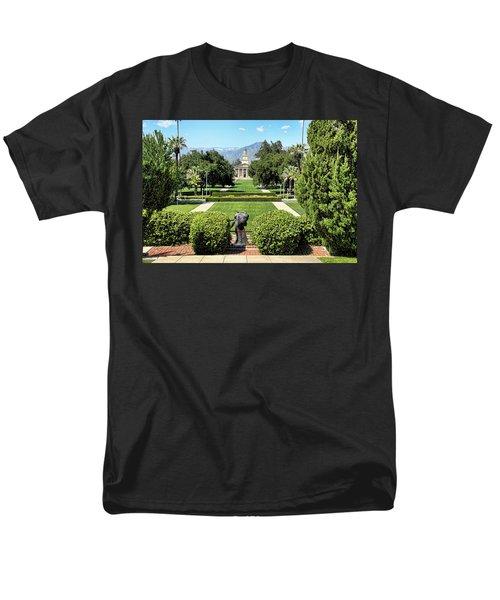 Memorial Chapel University Of Redlands Men's T-Shirt  (Regular Fit) by Mariola Bitner