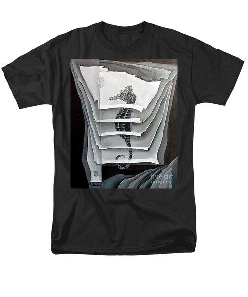 Memory Layers Men's T-Shirt  (Regular Fit) by Fei A