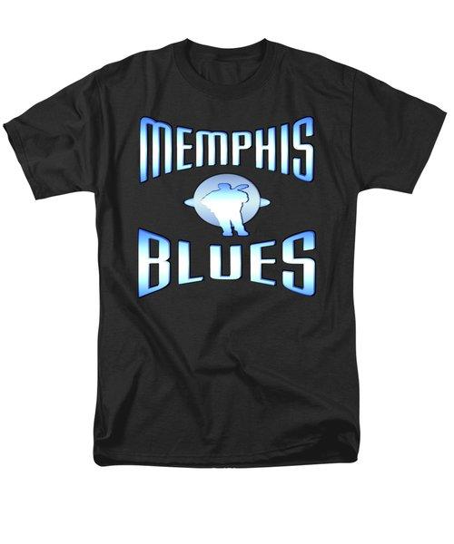 Memphis Blues Tshirt Design Men's T-Shirt  (Regular Fit)