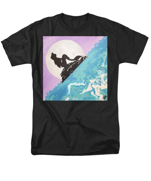Mermaid Men's T-Shirt  (Regular Fit) by Cyrionna The Cyerial Artist