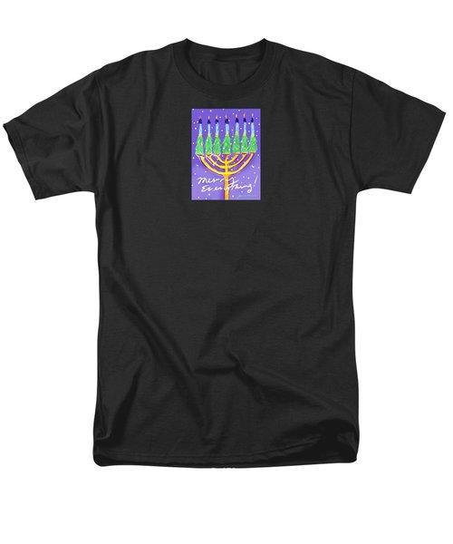 Merry Everything Men's T-Shirt  (Regular Fit) by Jean Pacheco Ravinski
