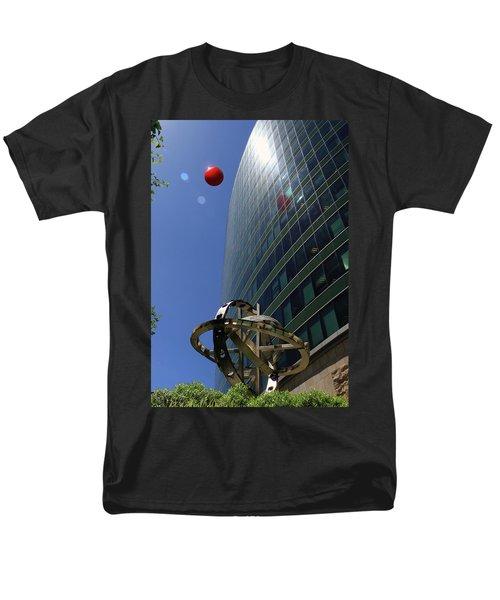 Men's T-Shirt  (Regular Fit) featuring the photograph Metropolitan Stranger by Christopher McKenzie