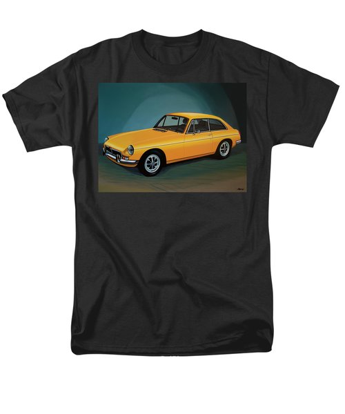 Mgb Gt 1966 Painting  Men's T-Shirt  (Regular Fit) by Paul Meijering