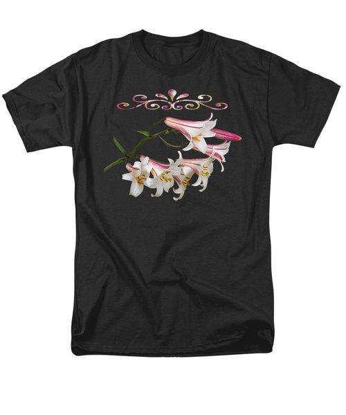 Midnight Radiance Men's T-Shirt  (Regular Fit)