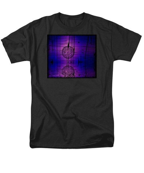 Men's T-Shirt  (Regular Fit) featuring the digital art Midnight Reeds by Mario Carini