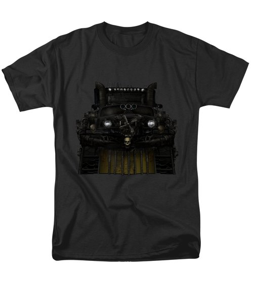 Men's T-Shirt  (Regular Fit) featuring the digital art Midnight Run by Shanina Conway