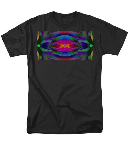 Men's T-Shirt  (Regular Fit) featuring the digital art Migrating Dimensions by Mike Breau