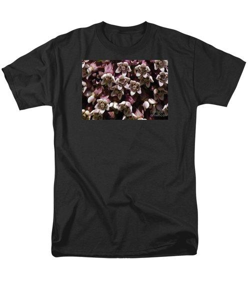 Milkweed Florets Men's T-Shirt  (Regular Fit) by Randy Bodkins