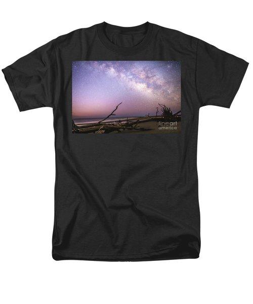 Milky Way Roots Men's T-Shirt  (Regular Fit) by Robert Loe