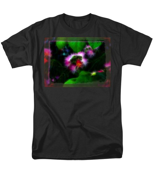 Men's T-Shirt  (Regular Fit) featuring the photograph Mimosa Flower by EricaMaxine  Price