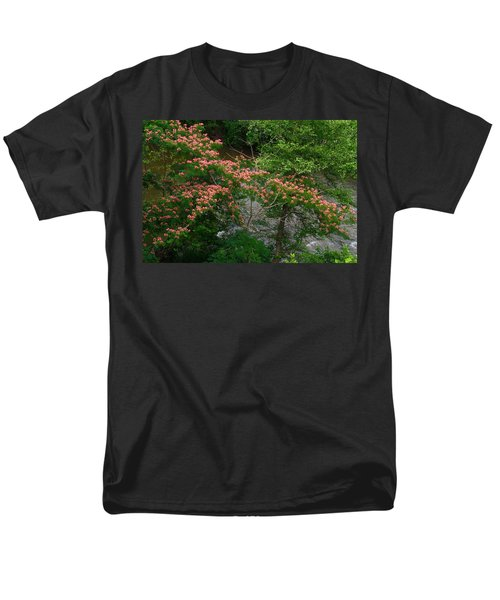 Mimosa On The Dan River Men's T-Shirt  (Regular Fit) by Kathryn Meyer