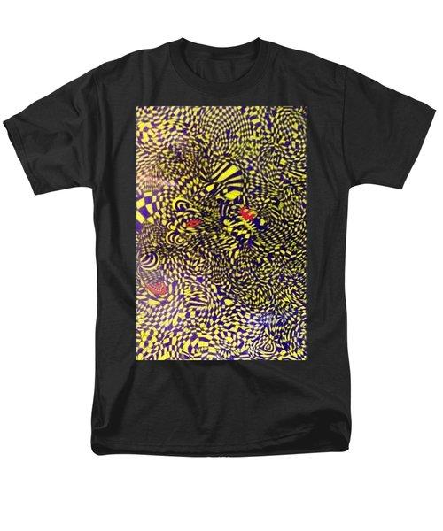 Mind Kaleidoscope 1 Men's T-Shirt  (Regular Fit) by Jonathon Hansen