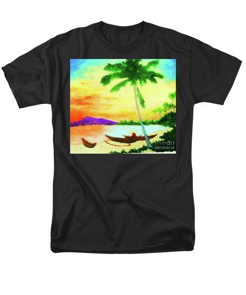 Mindanao Sunset Men's T-Shirt  (Regular Fit) by Roberto Prusso
