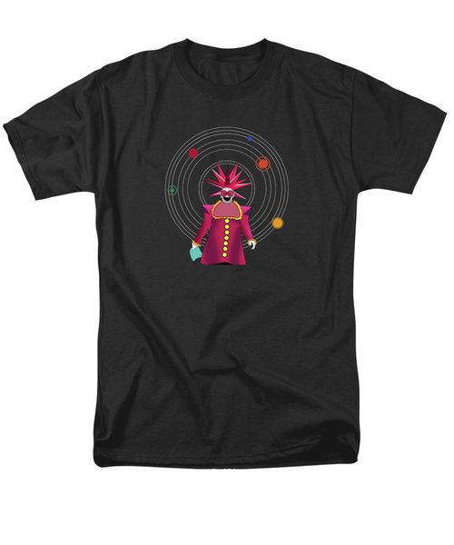 Minimal Space  Men's T-Shirt  (Regular Fit) by Mark Ashkenazi