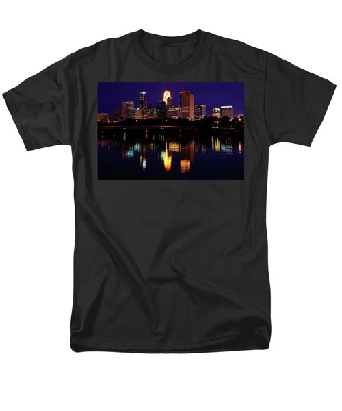 Minneapolis Twilight Men's T-Shirt  (Regular Fit)