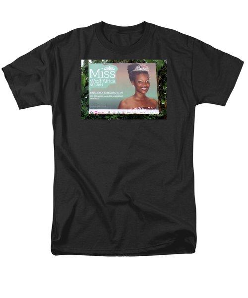 Miss West Africa Men's T-Shirt  (Regular Fit) by John Potts