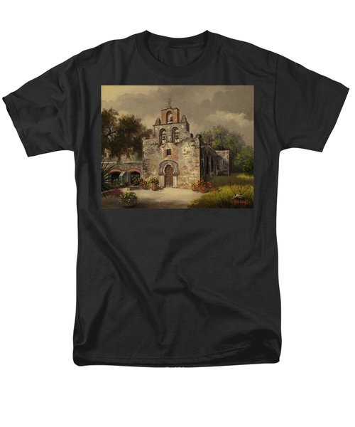 Mission Espada Men's T-Shirt  (Regular Fit) by Kyle Wood