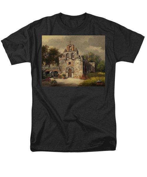 Mission Espada Men's T-Shirt  (Regular Fit)