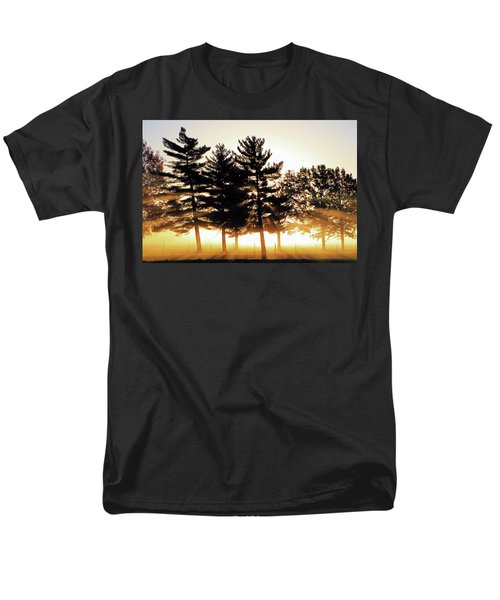 Missouri Tree Line Men's T-Shirt  (Regular Fit) by Christopher McKenzie