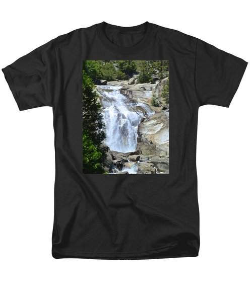 Mist Falls Men's T-Shirt  (Regular Fit) by Amelia Racca