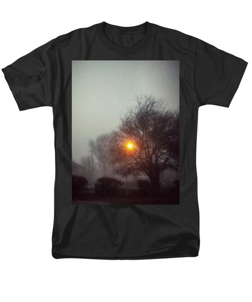 Men's T-Shirt  (Regular Fit) featuring the photograph Misty Morning by Persephone Artworks