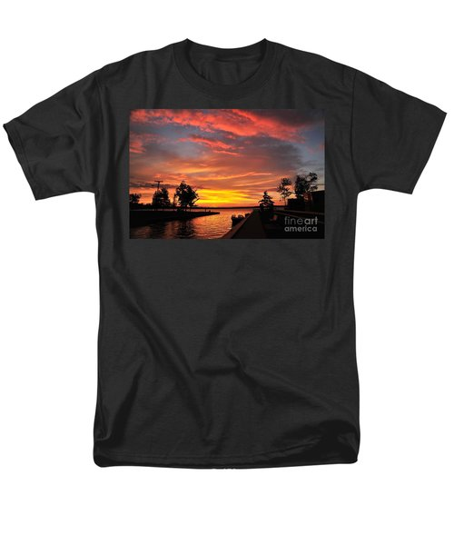 Mitchell State Park Cadillac Michigan Men's T-Shirt  (Regular Fit) by Terri Gostola