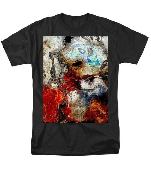 Mixed Emotions Men's T-Shirt  (Regular Fit) by The Art Of JudiLynn
