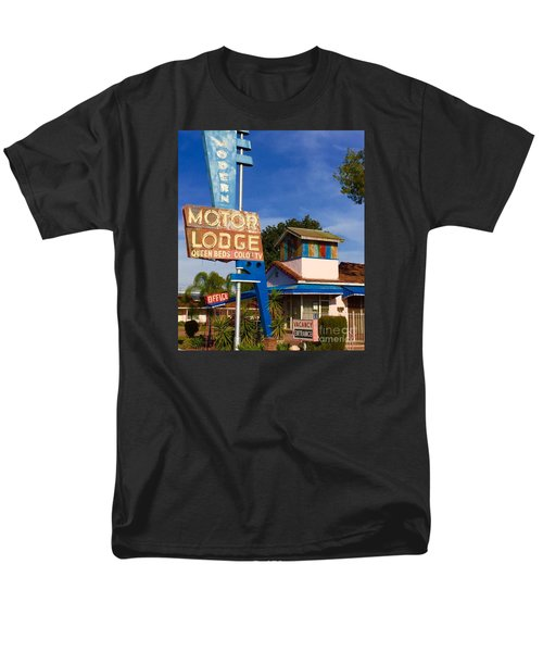 Modern In Lodi Men's T-Shirt  (Regular Fit) by Suzanne Lorenz