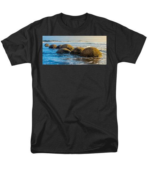 Moeraki Boulders Men's T-Shirt  (Regular Fit) by Martin Capek