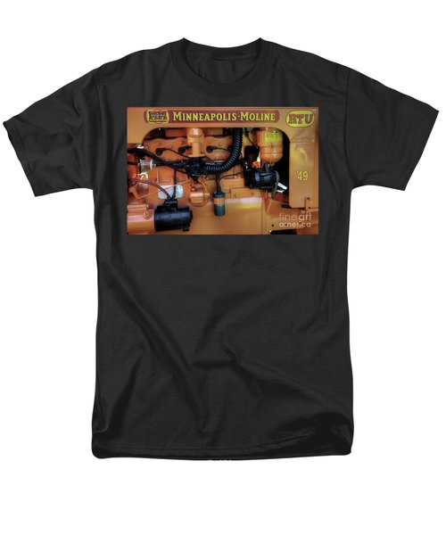 Moline Engine Men's T-Shirt  (Regular Fit) by Michael Eingle