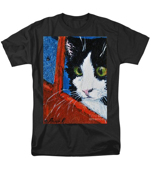 Men's T-Shirt  (Regular Fit) featuring the painting Molly by Reina Resto