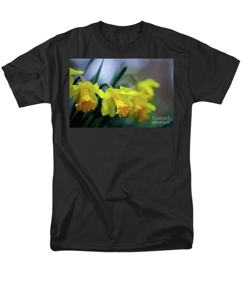 Men's T-Shirt  (Regular Fit) featuring the photograph Mom's Daffs by Lois Bryan