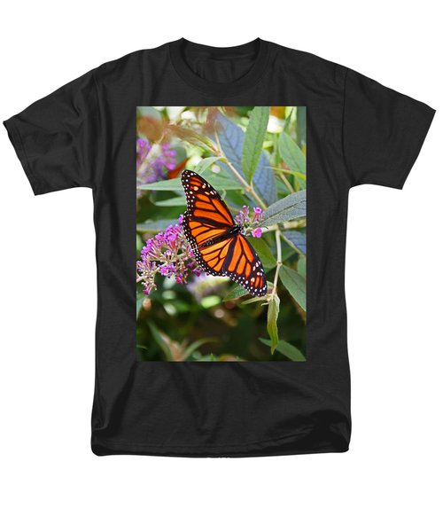 Monarch Butterfly 2 Men's T-Shirt  (Regular Fit) by Allen Beatty