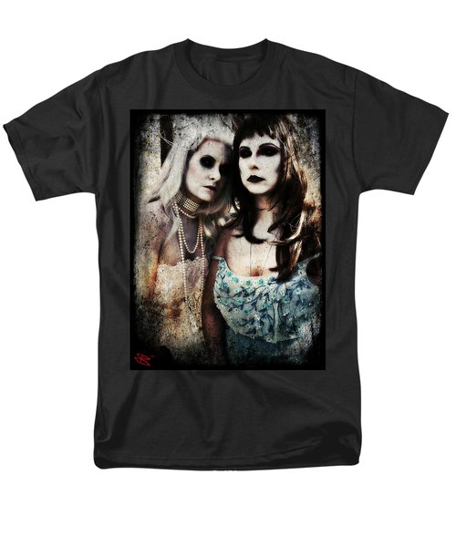 Men's T-Shirt  (Regular Fit) featuring the digital art Monique And Ryli 1 by Mark Baranowski