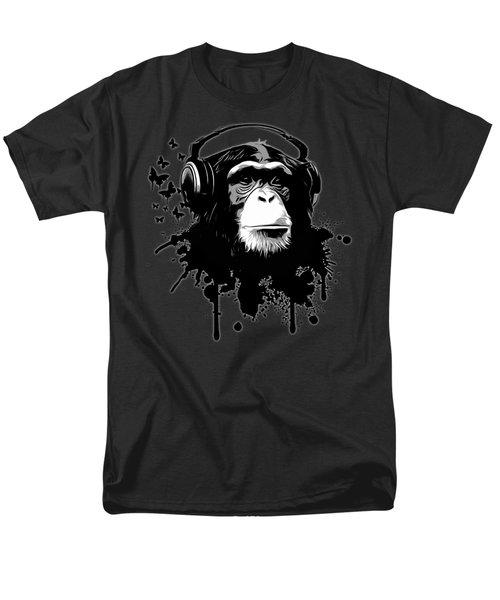 Monkey Business - Black Men's T-Shirt  (Regular Fit)