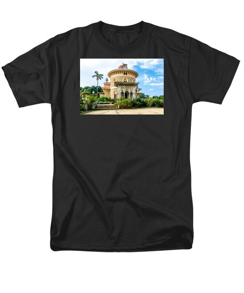 Men's T-Shirt  (Regular Fit) featuring the photograph Monserrate Palace by Marion McCristall