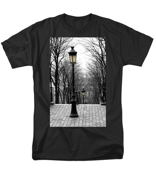 Montmartre Men's T-Shirt  (Regular Fit) by Diana Haronis