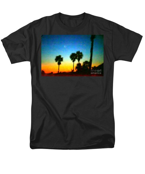 Moon Jupiter Sunrise Men's T-Shirt  (Regular Fit)