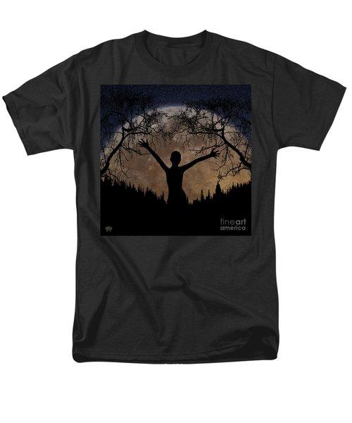 Moon Rising Men's T-Shirt  (Regular Fit) by Peter Piatt