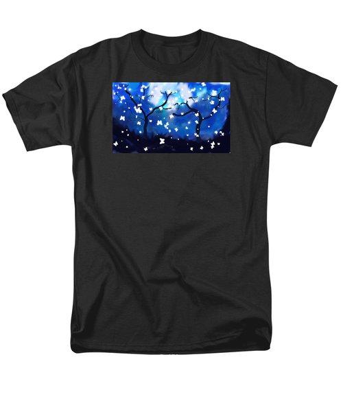 Moonlight Butterflies Men's T-Shirt  (Regular Fit)