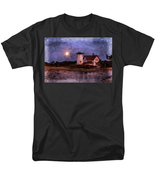 Moonlit Harbor Men's T-Shirt  (Regular Fit) by Patrice Zinck