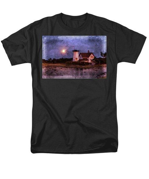 Moonlit Harbor Men's T-Shirt  (Regular Fit)