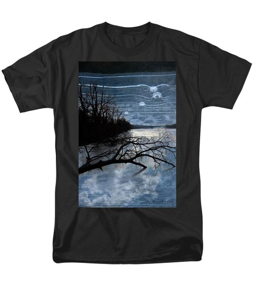 Moons Men's T-Shirt  (Regular Fit) by Joan Ladendorf