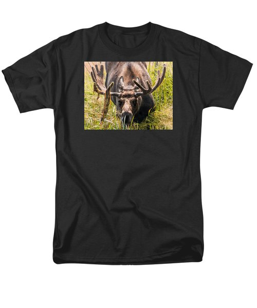 Men's T-Shirt  (Regular Fit) featuring the photograph Moose by Cathy Donohoue