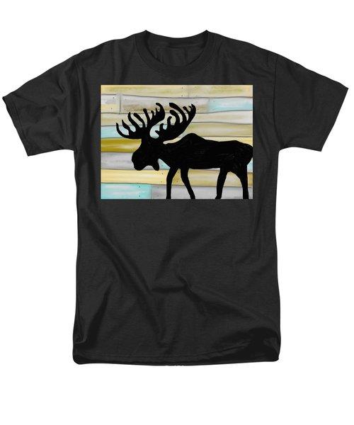 Moose Men's T-Shirt  (Regular Fit) by Paula Brown