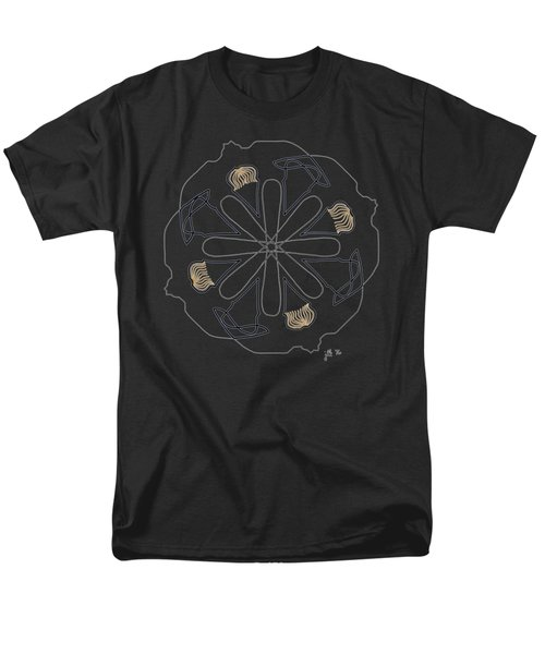 Mop Top - Dark T-shirt Men's T-Shirt  (Regular Fit) by Lori Kingston