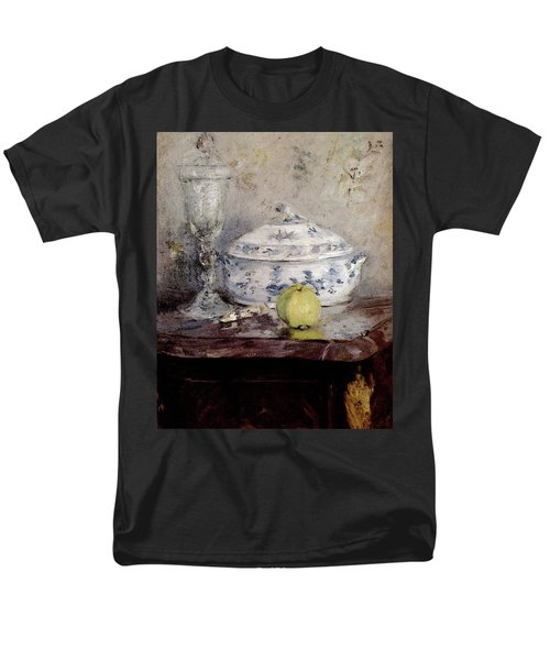Morisot Berthe Tureen And Apple Men's T-Shirt  (Regular Fit) by Berthe Morisot