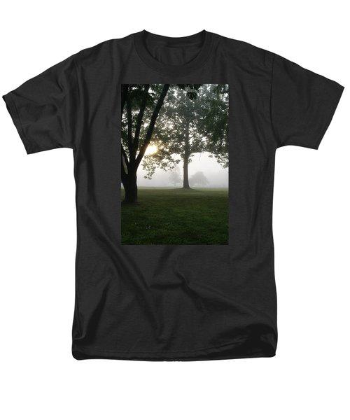 Morning Fog Men's T-Shirt  (Regular Fit) by Heidi Poulin
